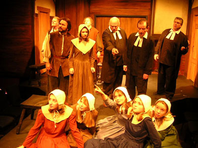 An analysis of a harsh reality of the crucible a play by arthur miller